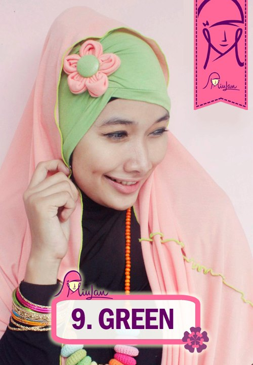 FLoo Turban Green