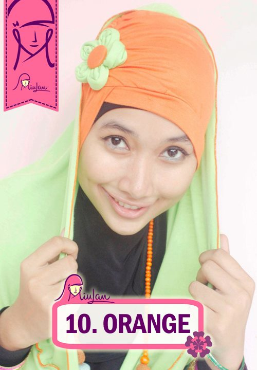 FLoo Turban Orange