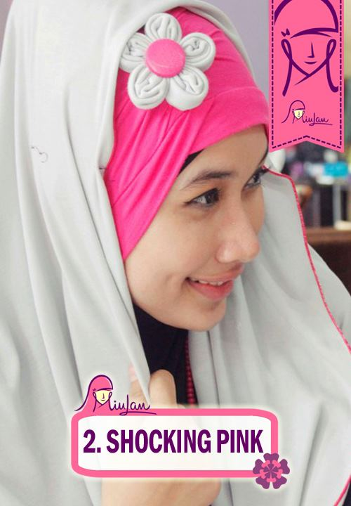 FLoo Turban Shocking Pink