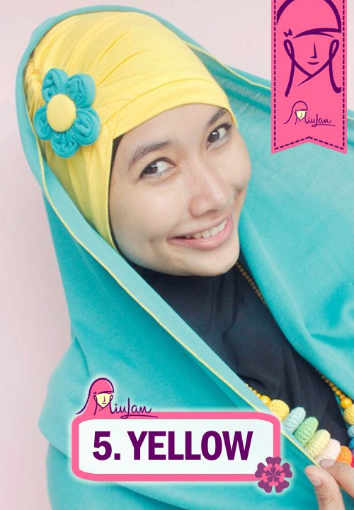 FLoo Turban Yellow